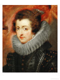 Isabella of Bourbon (1602-1644) Giclee Print by Peter Paul Rubens