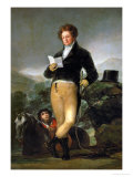 Francisco De Borja, 10th Duke of Osuna, 1816 Giclee Print by Francisco de Goya