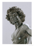 Young David, Detail of the Head Giclee Print by Andrea del Verrocchio