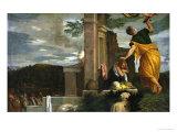 Sacrifice of Isaac, circa 1580 Giclee Print by Paolo Veronese