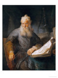 The Apostle Paul, 1633 Reproduction proc&#233;d&#233; gicl&#233;e par Rembrandt van Rijn 