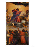 Assumption of the Virgin Giclee Print by Titian (Tiziano Vecelli)
