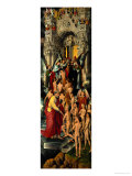 Reception of the Righteous into Heaven, Left Panel of Last Judgment Triptych, 1467-71 Giclee Print by Hans Memling
