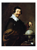 The Geographer Gicléedruk van Diego Velázquez