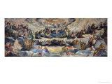 Paradis Giclée-tryk af Jacopo Robusti Tintoretto