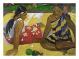 Two Women from Tahiti, 1892 Reproduction procédé giclée par Paul Gauguin
