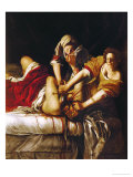 Judith and Holofernes, Around 1620 Lmina gicle por Artemisia Gentileschi