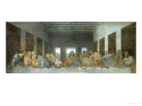 The Last Supper, 1498, Mural Giclée-Druck von  Leonardo da Vinci