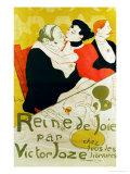 Reine De Joie, 1892 Reproduction procédé giclée par Henri de Toulouse-Lautrec