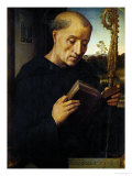 Saint Benedict, 1487 Giclee Print by Hans Memling