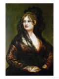 Portrait of the Wife of Juan Cean Bermudez Lámina giclée por Francisco de Goya