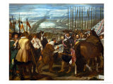 The Surrender of Breda, June 2, 1625, During the Dutch War of Independence Giclee Print by Diego Velázquez