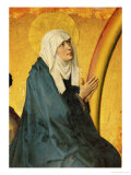 Saint Mary, Supposed to be a Portrait of Mme. Rolin, Wife of Nicolas Rolin Giclee Print by Rogier van der Weyden