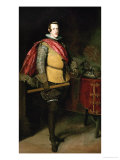 King Philip IV (1621-1665) Giclee Print by Diego Velázquez