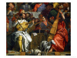 The Wedding at Cana, Photograph Before Restoration Giclée-Druck von Paolo Veronese
