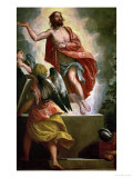 Workshop: Resurrection of Christ, circa 1580-1590 Giclee Print by Paolo Veronese
