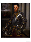 Man with Gold-Damascened Armor, 1555-1560 Giclee Print by Jacopo Robusti Tintoretto