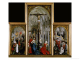 Altar of the Seven Sacraments, Painted Before 1450 Giclee Print by Rogier van der Weyden