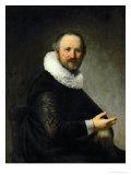 Male Portrait Giclee Print by  Rembrandt van Rijn