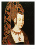 Isabelle De Bourbon, Wife of Charles the Bold of Burgunday, or Isabella of Portugal Giclee Print by Rogier van der Weyden