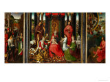 Altarpiece of St. John the Baptist and St. John the Evangelist, 1474-79 Giclee Print by Hans Memling