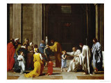 The Confirmation, from the Series of the Seven Sacraments, Before 1642 Giclee Print by Nicolas Poussin