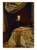 Philip IV of Spain (1621-1665), Praying Giclée-trykk av Diego Velázquez