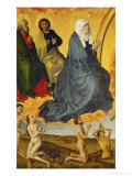 Saint Mary and Saints, the Resurrected Rising from Their Tombs Giclee Print by Rogier van der Weyden