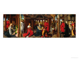 Triptych: Nativity, the Adoration of the Kings, the Purification Giclee Print by Hans Memling