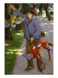 The Parrot-Man, 1902 Giclee Print by Max Liebermann