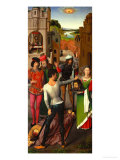 Beheading of Saint John the Baptist Giclee Print by Hans Memling