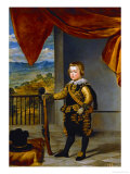 Infant Baltasar Carlos (1629-1646) Giclee Print by Diego Vel&#225;zquez