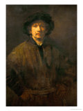 Large Self-Portrait, 1652 Giclee Print by  Rembrandt van Rijn