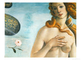 The Birth of Venus (Venus Anadyomene), Detail Giclee Print by Sandro Botticelli