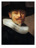 Albert Cuyper, Merchant (1585-1637), Aged 47, Painted 1632 Giclee Print by  Rembrandt van Rijn