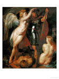 Hero Crowned by Victory, 1612 Giclee Print by Peter Paul Rubens