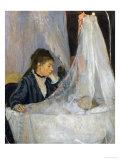 Le Berceau (The Cradle) Reproduction procédé giclée par Berthe Morisot