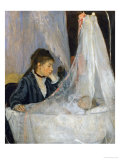 Le Berceau (The Cradle) Gicledruk van Berthe Morisot