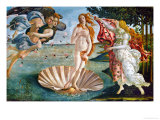 The Birth of Venus, 1486, Tempera on Canvas Lmina gicle por Sandro Botticelli
