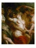Satyr Embracing a Bacchante Giclée-Druck von Peter Paul Rubens