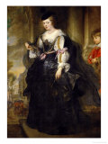 Helene Fourment with Carriage Giclee Print by Peter Paul Rubens