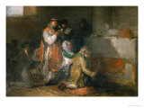 The Ill-Matched Couple Giclee Print by Francisco de Goya