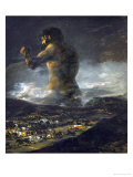 The Colossus Giclee Print by Francisco de Goya