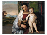 The Gypsy Madonna, circa 1510 Giclee Print by  Titian (Tiziano Vecelli)