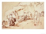 Entombment of Christ Giclee Print by  Rembrandt van Rijn