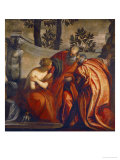 Susanna and the Two Elders Giclee Print by Paolo Veronese