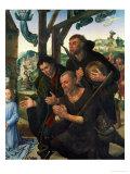 Three Shepherds Giclee Print by Hugo van der Goes