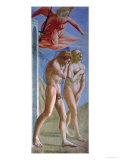 Expulsion from Paradise, 1425-1428 Giclée-tryk af Masaccio