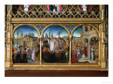 The Saint Ursula Shrine: Saint Ursula with Her Eleventhousand Virgins Giclee Print by Hans Memling