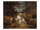 Mercury and Argos Giclee Print by Jean-Honoré Fragonard